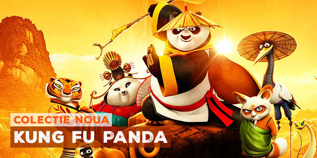 Tricouri Kung Fu Panda
