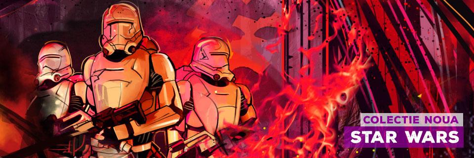 Tricouri cu Star Wars - Darth Vader, Troopers, Luke si multi alti