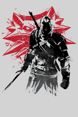 The Witcher Sumi-e,