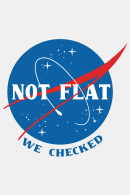 Not Flat, We Checked,
