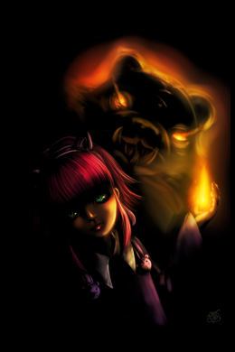 Annie and Tibber - League of Legends,