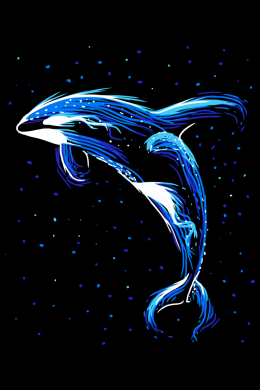 Luminous Killer whale,