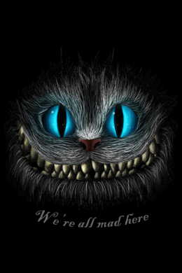 Cheshire cat - Alice in tara  minunilor,