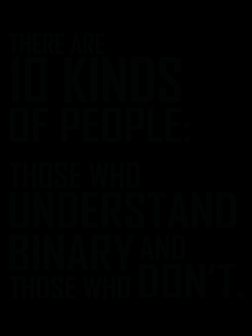 10 kinds of people