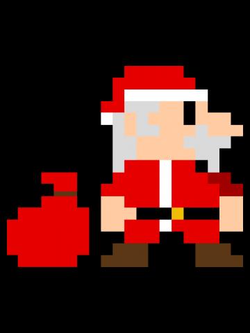 8Bit Santa