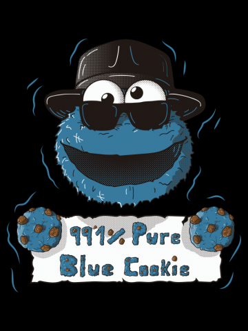 99,1 % Pure Blue Cookies