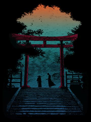 A Samurai Death Combat about to Begin...