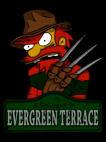 A nightmare on evergreen terrace