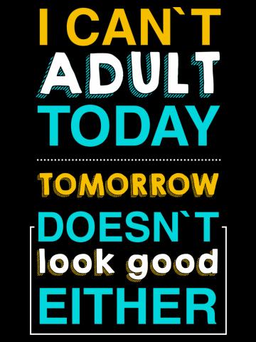 Adult t- shirt