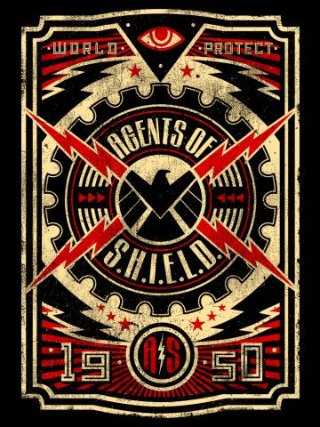 Agents of S.H.I.E.L.D. Propaganda Vintage
