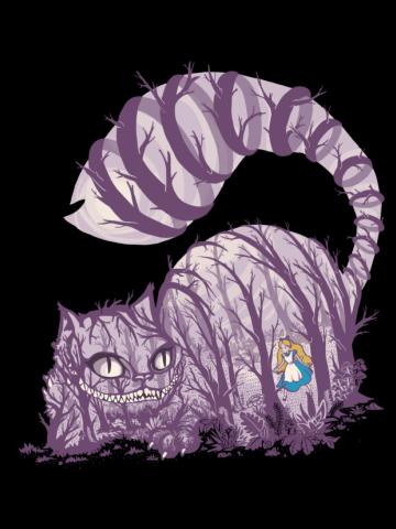Alice in wonderland - Big cat