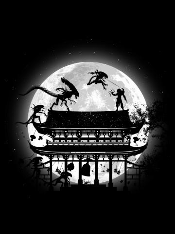 Alien vs Predator in Japan