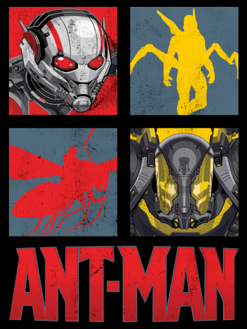 Ant-Man Heroes and Villains