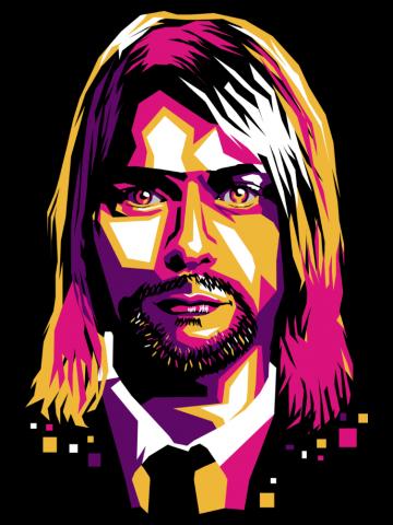Artistic Kurt Cobain - Nirvana