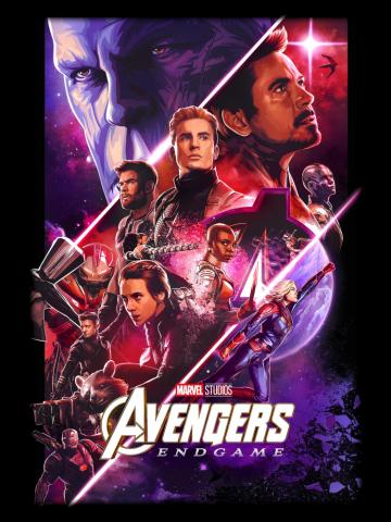 Avengers Endgame Cinematic Poster