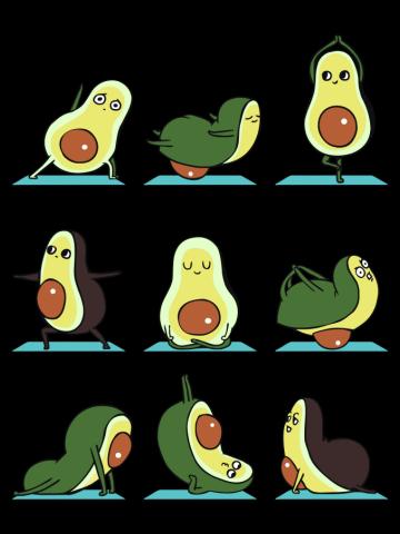Avocado Yoga