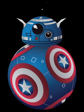 BB8 America Droid