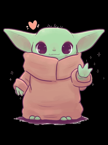Baby Yoda - Hello