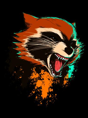 Badass Raccoon
