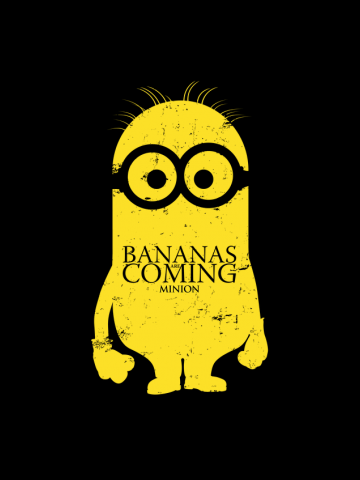 Bananas are coming - House Minion