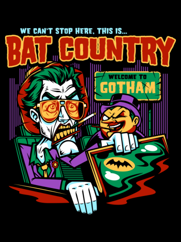 Bat Country (Penguin Design)