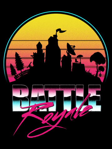 Battle Royale Poster - Fortnite