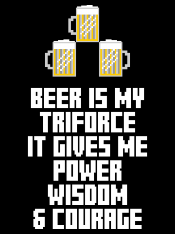 Beer is my Triforce