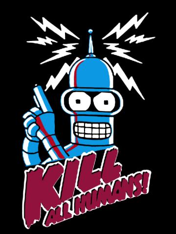 Bender Kill All Humans
