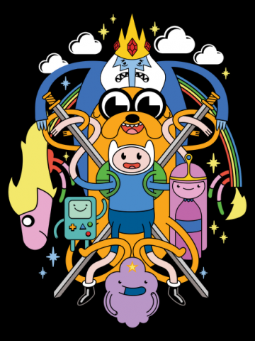 Big Reunion - Adventure Time