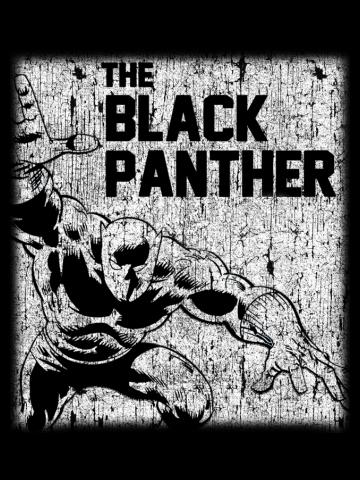 Black Panther Distressed