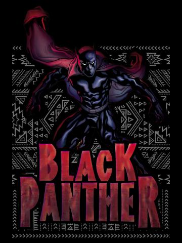 Black Panther Geometric