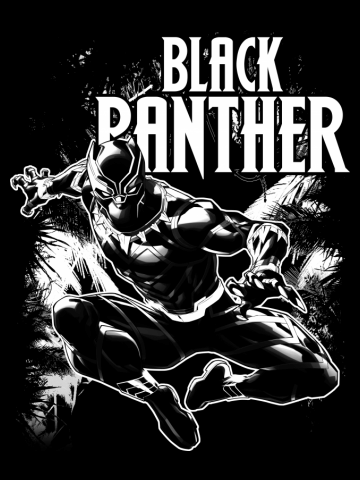 Black Panther Leaps