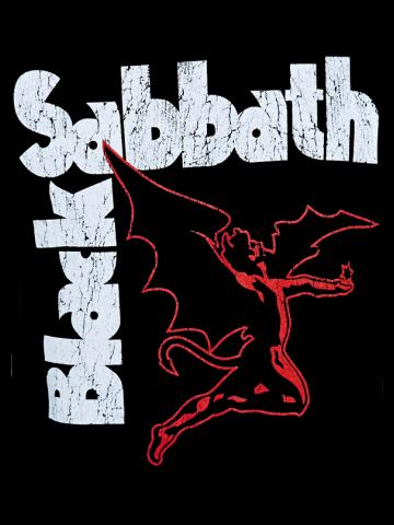 Black Sabbath - Wing Logo