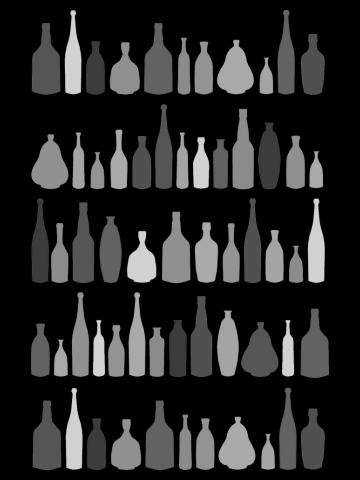 Bottles Grey
