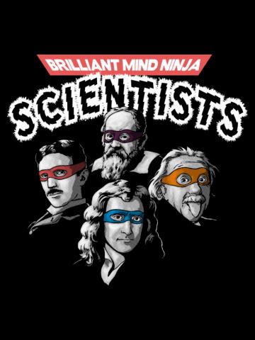 Brilliant Mind Ninja Scientists