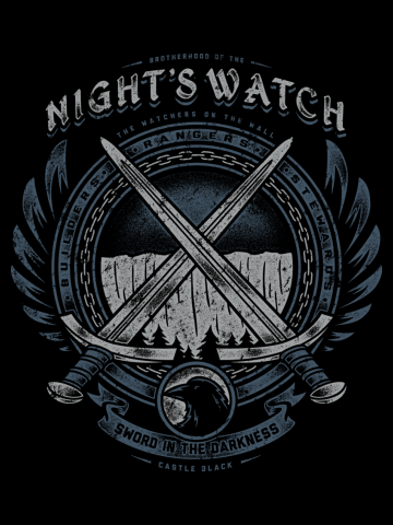 Brotherhood of night watch - Game of Thrones