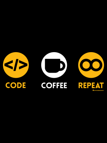 CODE COFFEE REPEAT