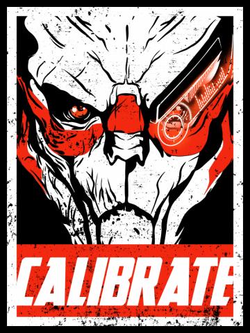 Calibrate like a Vakarian