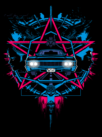 Car Logo - Supernatural