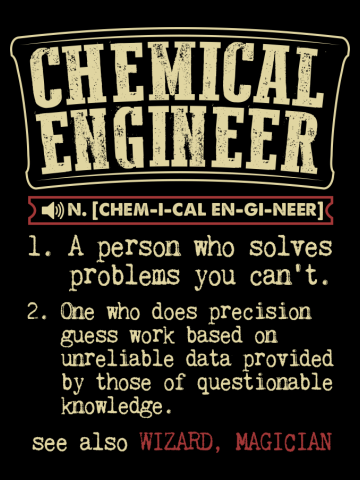 Chemical Engineer Funny Dictionary Term