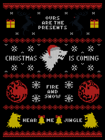 Christmas is coming - Ugly sweater