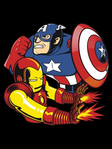 Civil war - Comic art