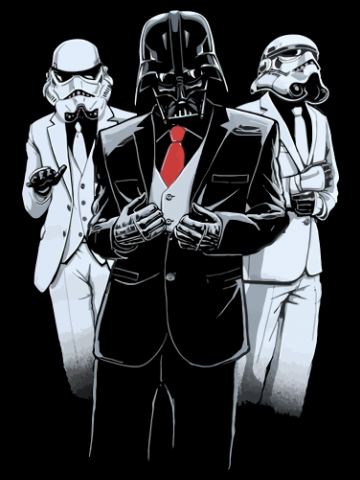 Classy Vader - Star Wars