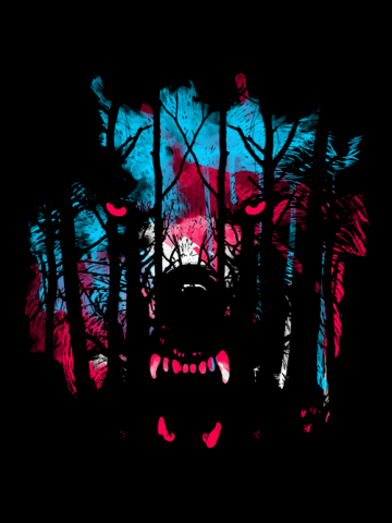Cold eye stare - Tiger