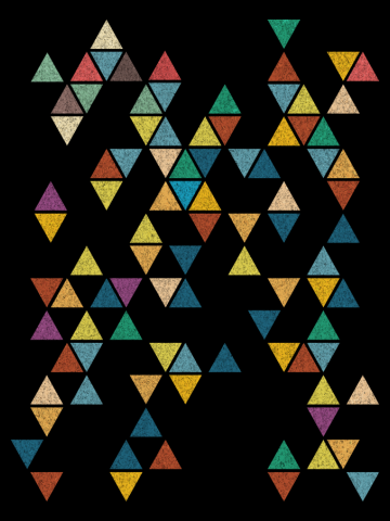 Colossal Abstract Triangles