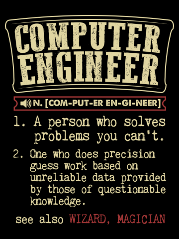 Computer Engineer Funny Dictionary Term