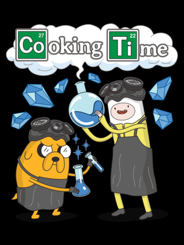 Cooking Time with Walt and Jesse - Breaking Bad