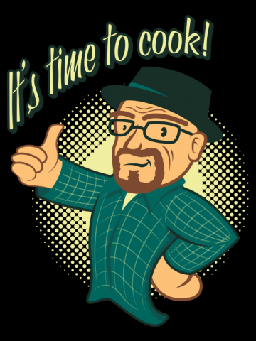 Cooking with Walt