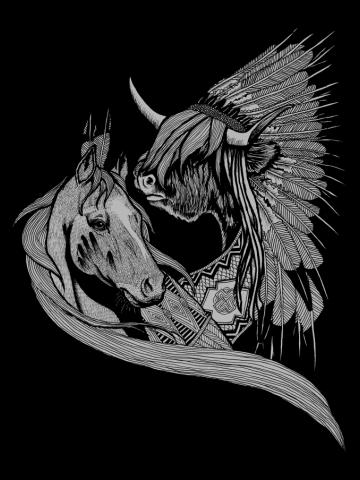 Crazy Horse & Sitting Bull