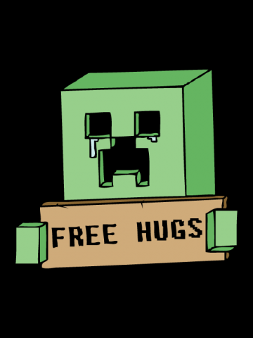 Creeper free hugs